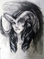 female satyr by Yehudiah