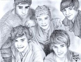 One Direction by loriLUNACY