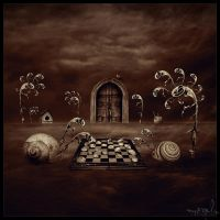 Silence , Night and Dreams III by the-surreal-arts