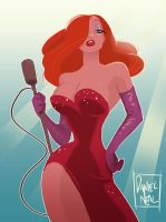 Jessica Rabbit by DanNeal