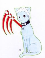 Hidan Kitty by AppleFreak56