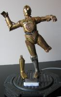 C3PO iPhone Dock finished by GeekVarietyDotCom