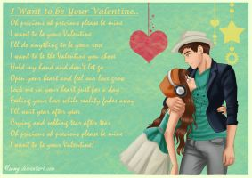 I want to be your Valentine by Maemy
