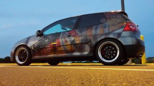 my GTI Wrapped by TacoAce