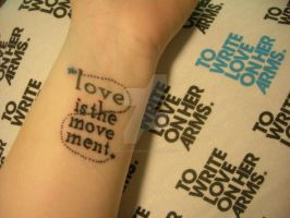Love is the Movement by ManicExpressive