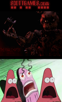 How we all pretty much reacted to the FNAF4 teaser by longlostlive