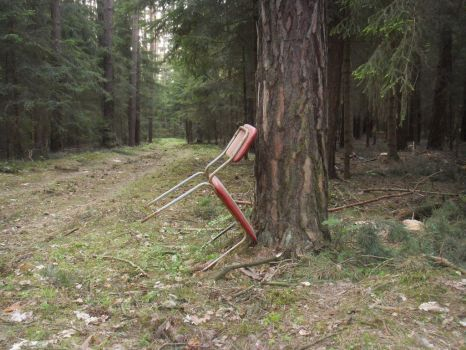 Chair in the woods by Beorn77