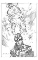 Lobster Johnson pencils by stevenrussellblack
