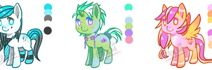 Pony Adopts Auction 02 [CLOSED] by TanukiAdopts