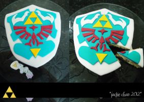 The Legend of Zelda: My First Cake! =3 by jackiechanchan