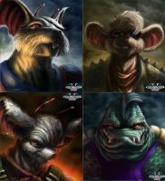 Biker mice from mars by AtomiccircuS