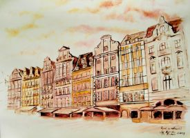 Wroclaw - Market Square by AdmirerOfLife