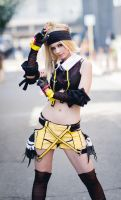 Rikku Ninja Cosplay by Ryuux3