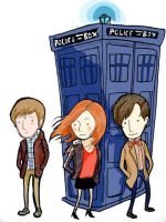 Doctor Who by Yellowbellyhill