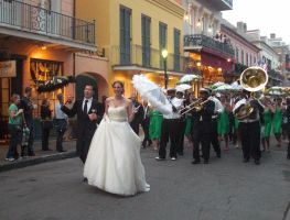 New Orleans French Quarter Wedding by tobilou