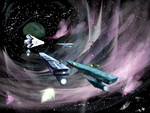 Boarding the Galactic Freightliner by philippeL