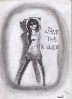 Jane the killer: Till the world ends by GothamGirlDC
