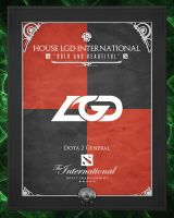 TI3 Banners - LGD.International by goldenhearted