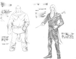 Character Sketches 3- Project by AlonsoNunez