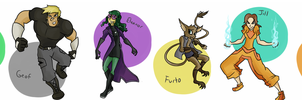 Round Two Aurora Contestants! by AndrewMartinD