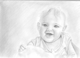 Baby Portrait by lizzy1e