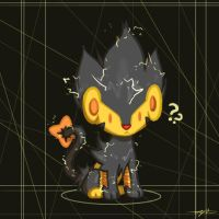 Kawaii Luxray by EchoSongs