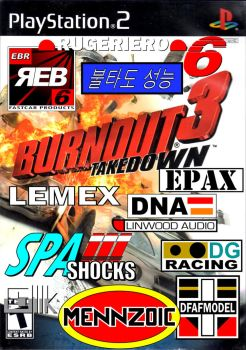 Burnout 3 Takedown Decals by AirLooney