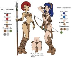 Val and Ruri Character Bios by canime