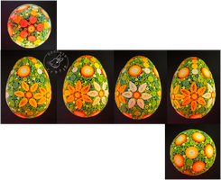 Quilling - egg 13 by Eti-chan