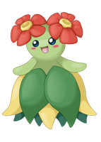 Prize: Bellossom by Mizzi-Cat