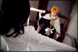 I'm here to save you, Rukia by red-cluster