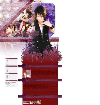 Aki Layout by lonelyxmee