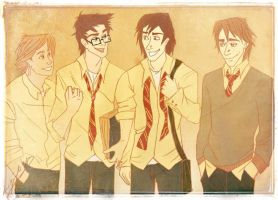 marauders. by laugiancoli