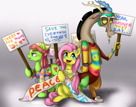 The Protest [REDRAW] by pokemonka225dw