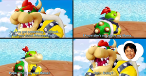 Bowser Jr.'s Real Mom. by PxlCobit