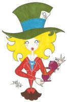 The Mad Hatter by ChiChaPaWa
