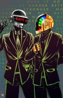 Daft Punk by TyrineCarver