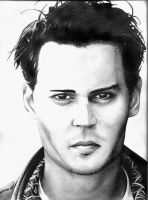 Johnny Depp by Friday-13th