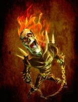 Ghost Rider by TedKimArt