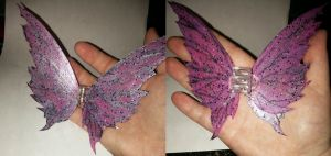 Clip-on Barbie Fairy Wings by ShadyDarkGirl