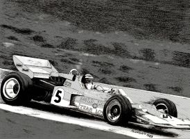 Lotus 72 - Rindt by ShinjiRHCP