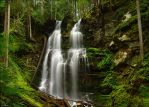 gibson falls by NWunseen