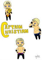 Chibi WWE Christian by CharismasXe
