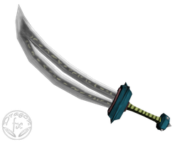 Torchlight low-poly sword 2 by DragoN-FX