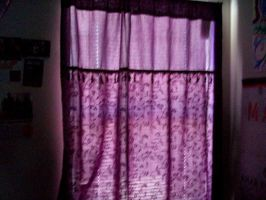 Purple Curtains. 2 by BabsxStock