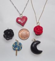 Pendants by MeticulousBlue