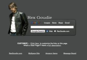 Rex Goudie Startpage by AwesomeStart