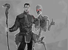 Bones before Thrones by Bored-Drawfriend