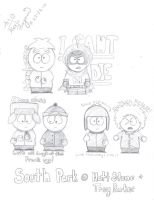 South Park Kids by ocean0413