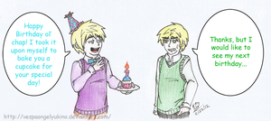 Happy Birthday Ol' Chap! by VespaAngelYukino